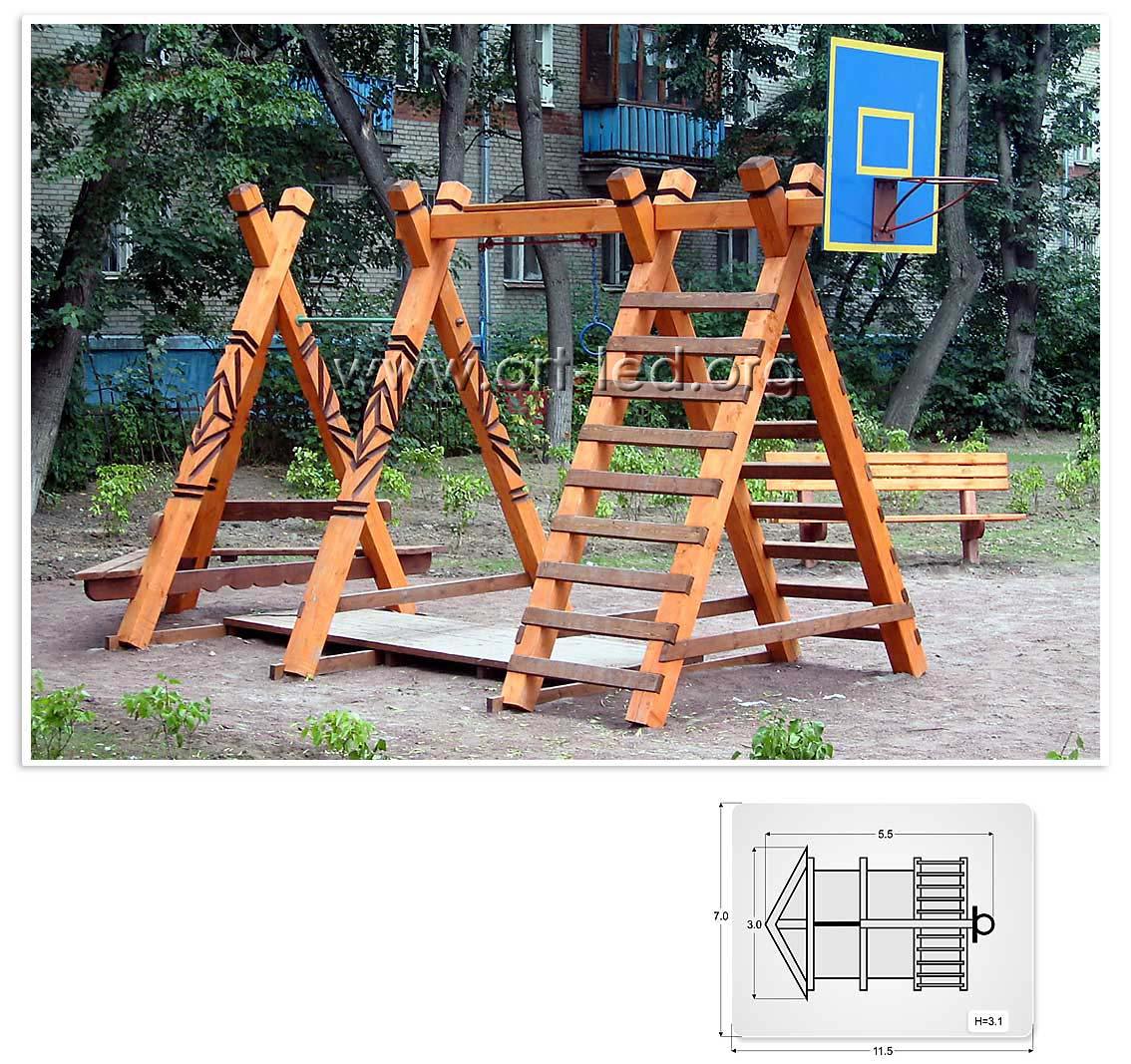 Как построить спортивную площадку своими руками для дачи и дома